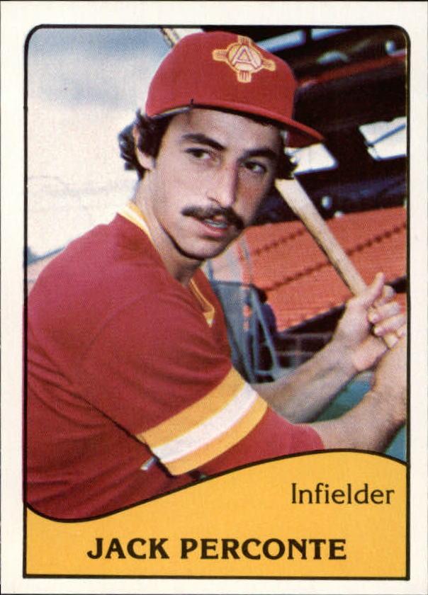 1979 Albuquerque Dukes TCMA #13 Jack Perconte