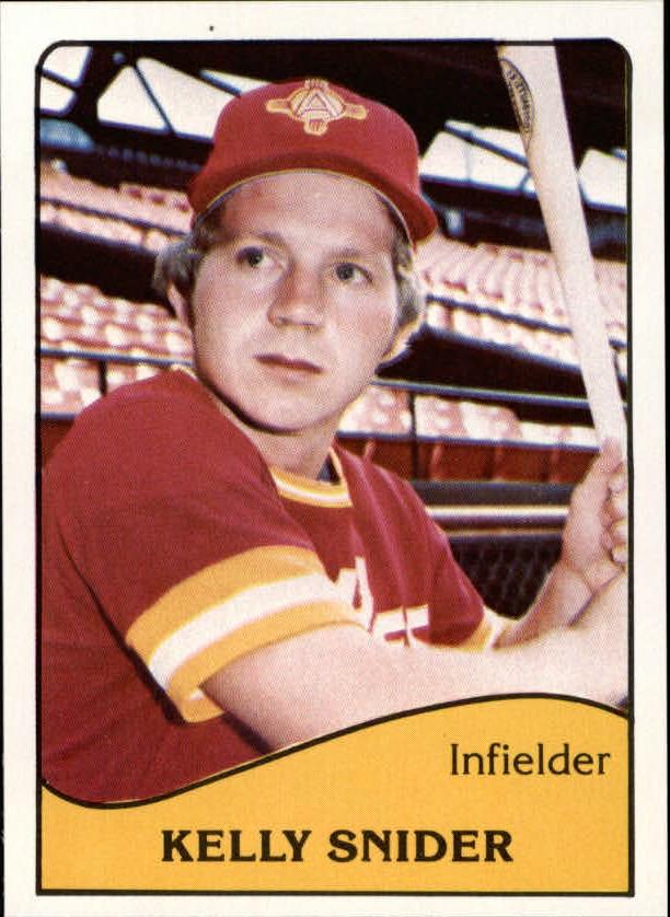 1979 Albuquerque Dukes TCMA #14 Kelly Snider
