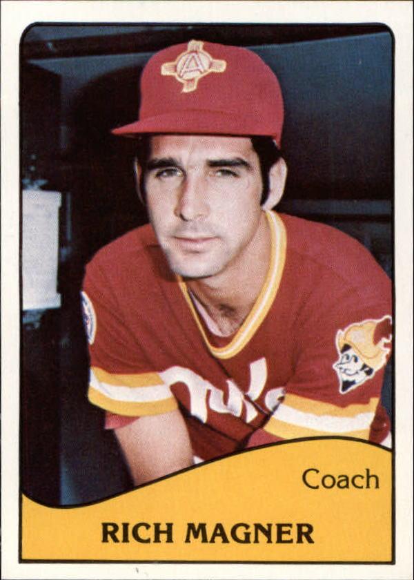 1979 Albuquerque Dukes TCMA #17 Rich Magner