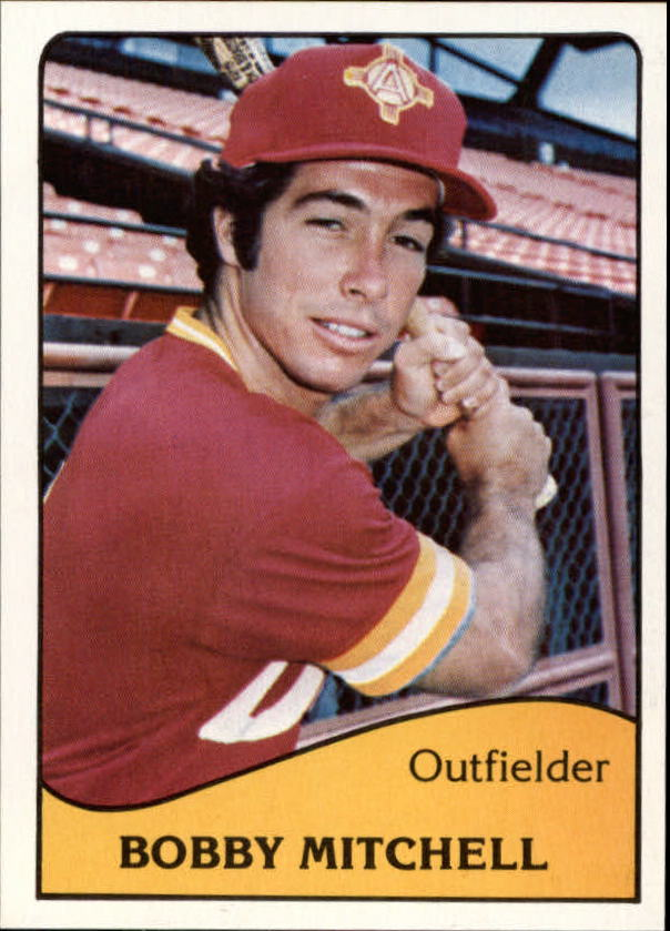 1979 Albuquerque Dukes TCMA #18 Bobby Mitchell