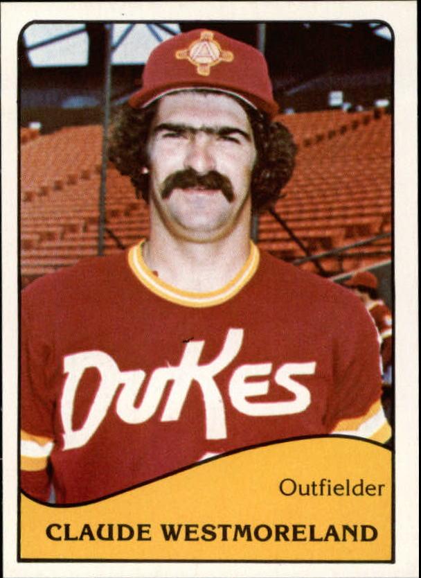 1979 Albuquerque Dukes TCMA #21 Claude Westmoreland