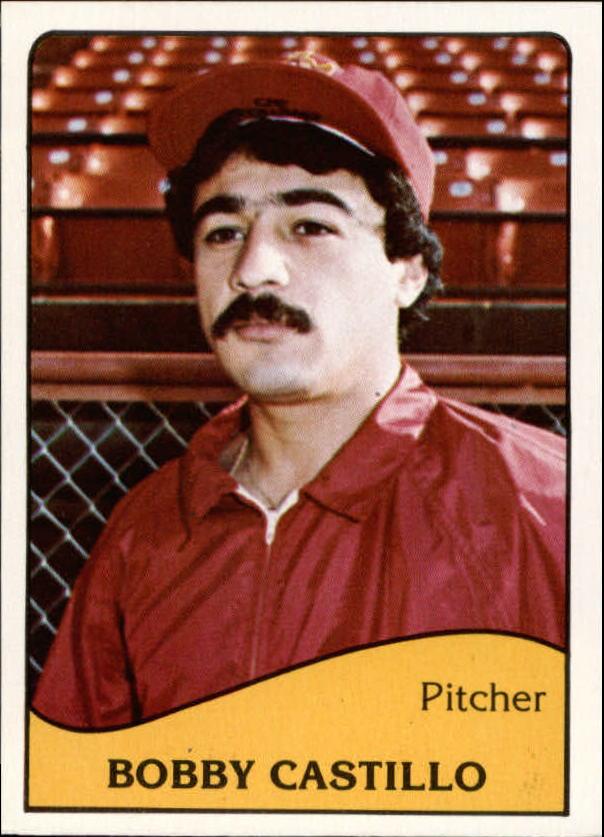 1979 Albuquerque Dukes TCMA #22 Bobby Castillo