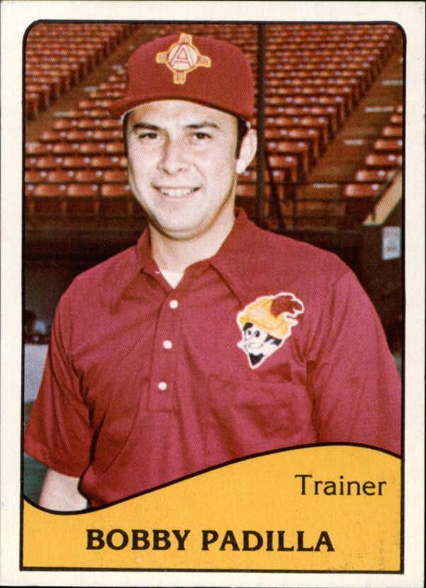 1979 Albuquerque Dukes TCMA #23 Bobby Padilla