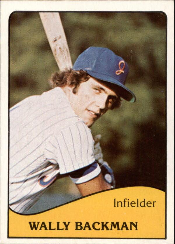 1979 Jackson Mets TCMA #2 Wally Backman