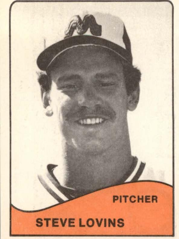 1979 Memphis Chicks TCMA #1 Steve Lovins