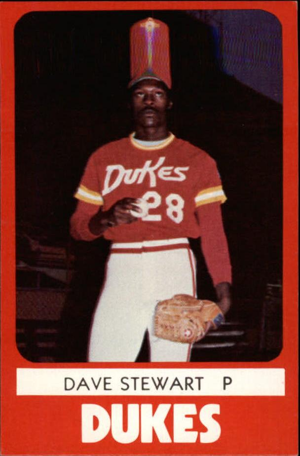 1980 Albuquerque Dukes TCMA #1 Dave Stewart