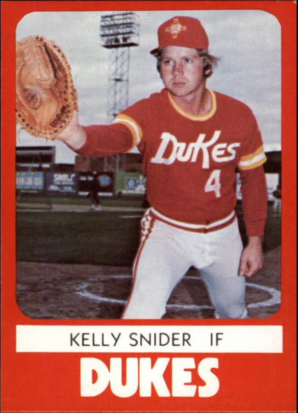1980 Albuquerque Dukes TCMA #4 Kelly Snider