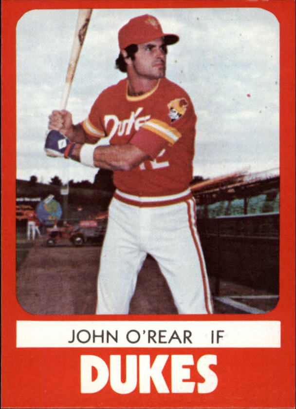 1980 Albuquerque Dukes TCMA #7 John O'Rear
