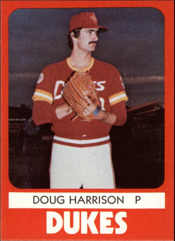 1980 Albuquerque Dukes TCMA #9 Doug Harrison