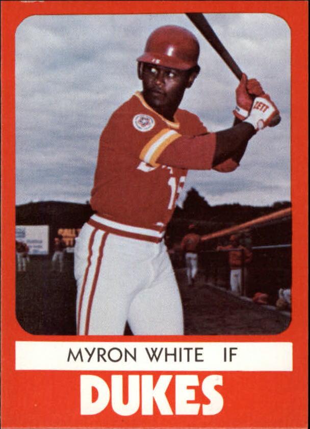 1980 Albuquerque Dukes TCMA #12 Myron White