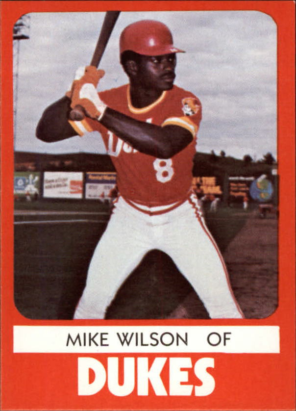 1980 Albuquerque Dukes TCMA #15 Mike Wilson