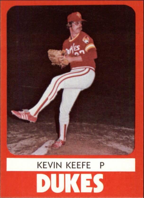 1980 Albuquerque Dukes TCMA #17 Kevin Keefe
