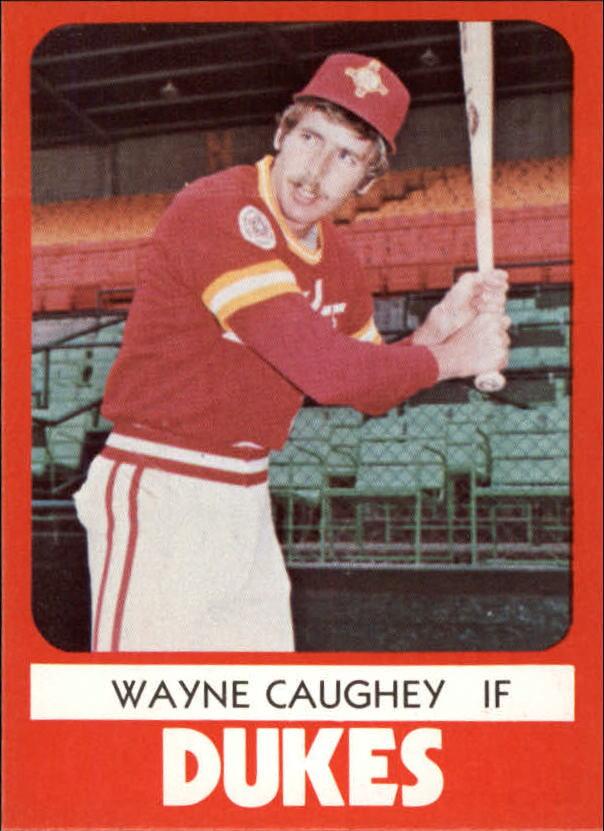 1980 Albuquerque Dukes TCMA #18 Wayne Caughey