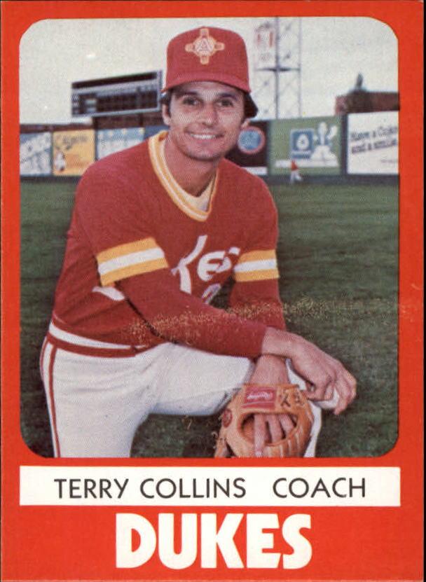 1980 Albuquerque Dukes TCMA #19 Terry Collins