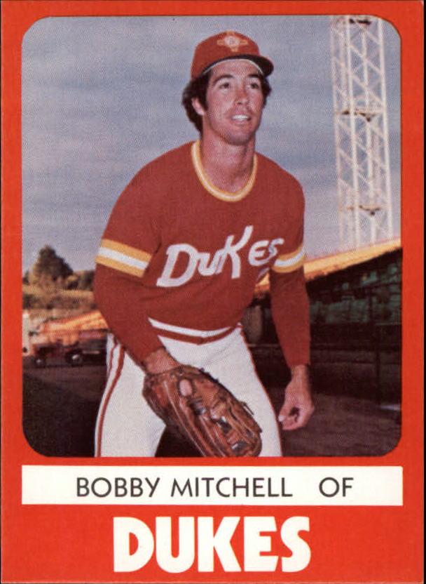 1980 Albuquerque Dukes TCMA #20 Bobby Mitchell