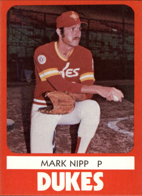 1980 Albuquerque Dukes TCMA #21 Mark Nipp