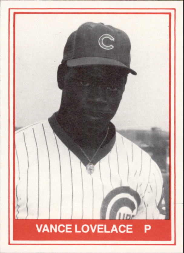 1982 Quad City Cubs TCMA #10 Vance Lovelace