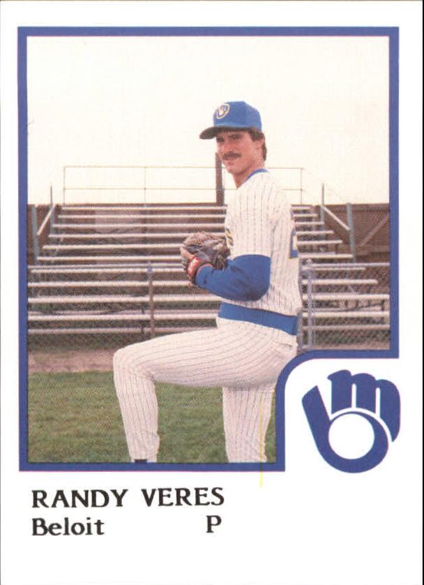 1986 Beloit Brewers ProCards #25 Randy Veres