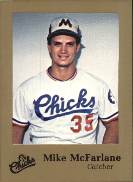 1986 Memphis Chicks Time Out Sports #16 Mike Macfarlane