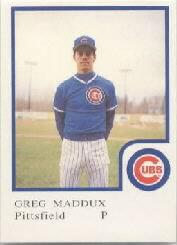 1986 Pittsfield Cubs ProCards #14 Greg Maddux