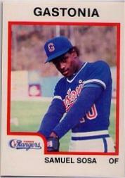 1987 Gastonia Rangers ProCards #29 Sammy Sosa