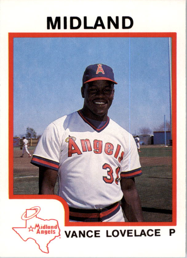 1987 Midland Angels ProCards #24 Vance Lovelace