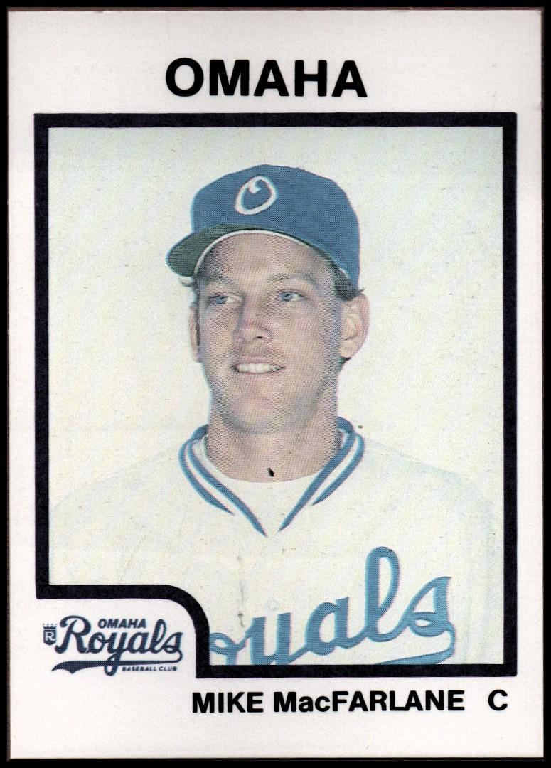 1987 Omaha Royals ProCards #24 MIke Macfarlane
