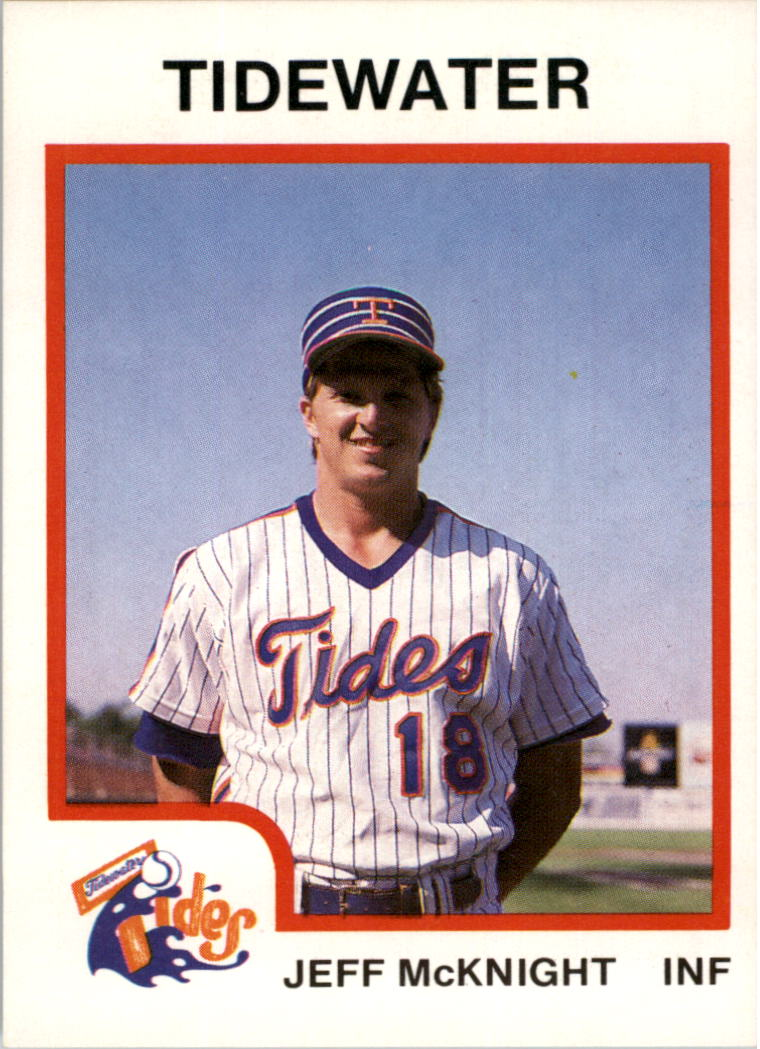 1991 Topps # 319 NM//MT Baseball Card Jeff McKnight