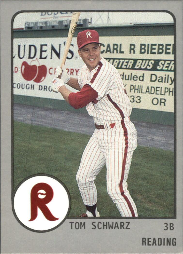 1988 Reading Phillies ProCards #863 Tom Schwarz