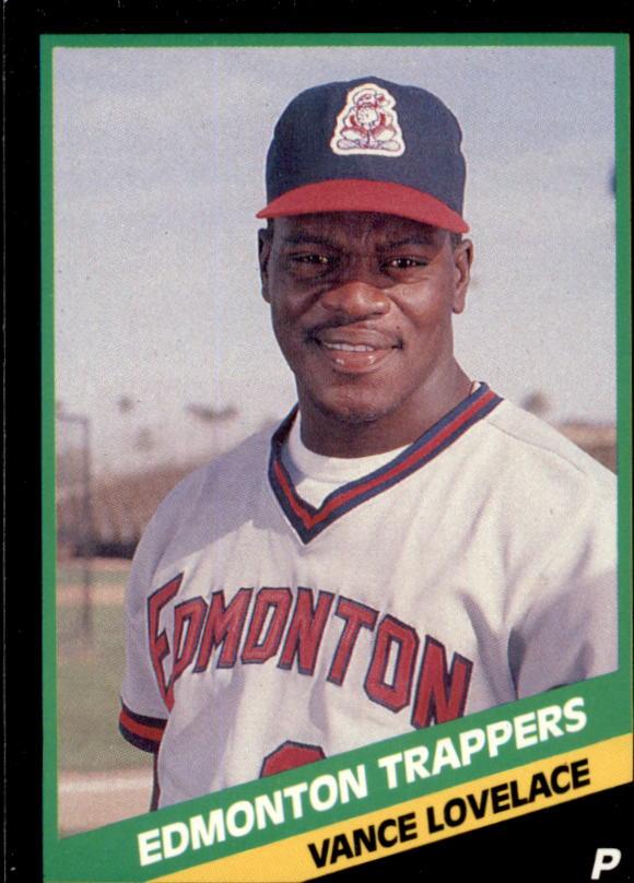 1988 Edmonton Trappers CMC #4 Vance Lovelace