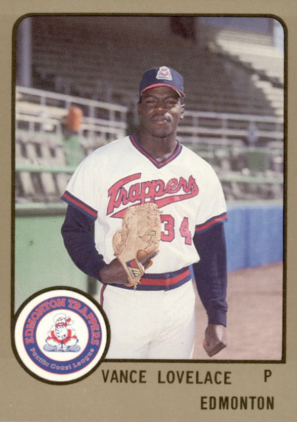 1988 Edmonton Trappers ProCards #557 Vance Lovelace