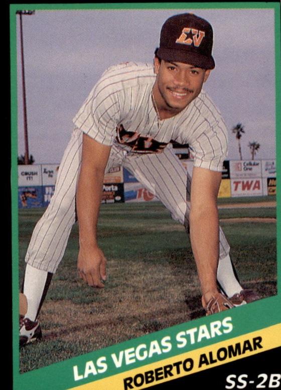 1988 Las Vegas Stars CMC #20 Roberto Alomar