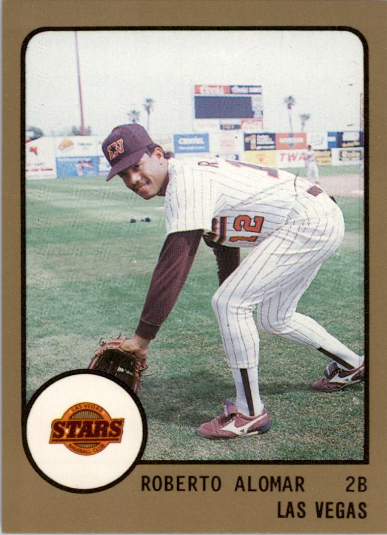 1988 Las Vegas Stars ProCards #231 Roberto Alomar