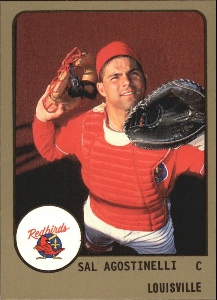1988 Louisville Red Birds ProCards #424 Sal Agostinelli