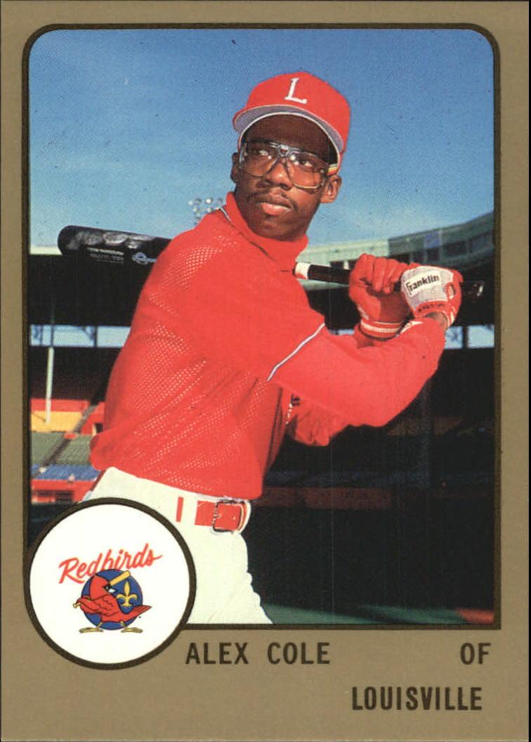 1988 Louisville Red Birds ProCards #438 Alex Cole