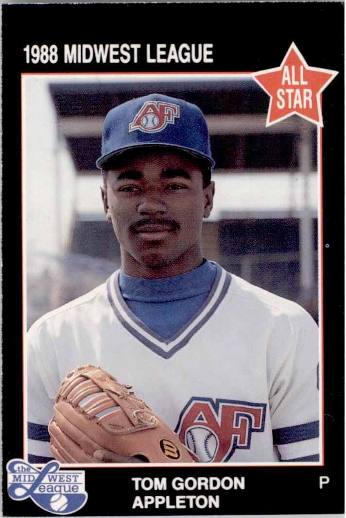 1988 Midwest League All-Stars Grand Slam #40 Tom Gordon