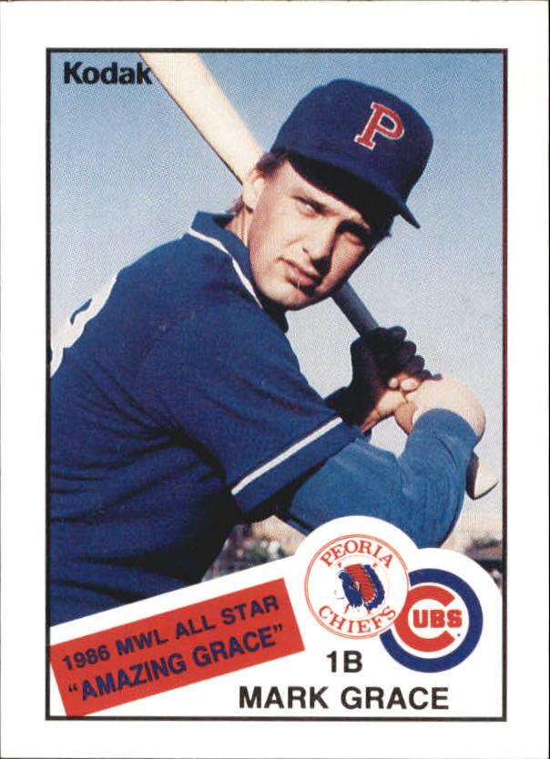 Buy Mark Grace Cards Online Mark Grace Baseball Price Guide Beckett