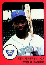 1988 Vermont Mariners ProCards #NNO Ken Griffey Jr.
