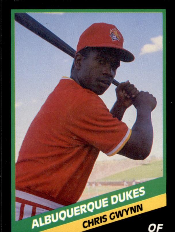 1988 Albuquerque Dukes CMC #12 Chris Gwynn