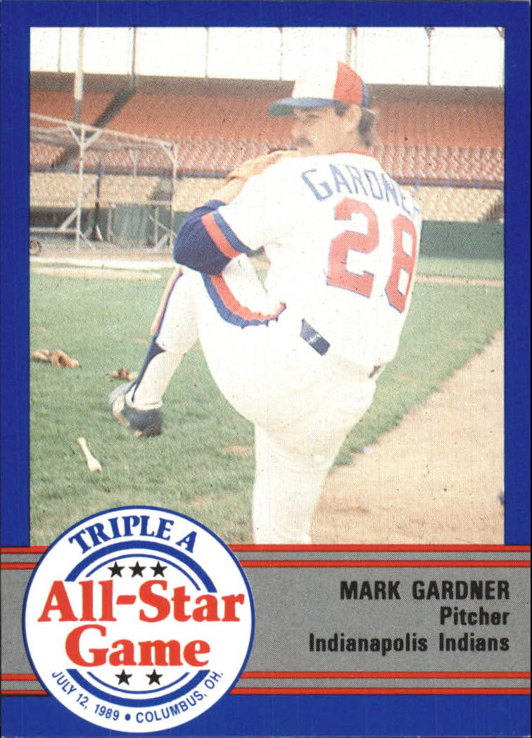 1989 Triple A All-Stars ProCards #AAA10 Mark Gardner