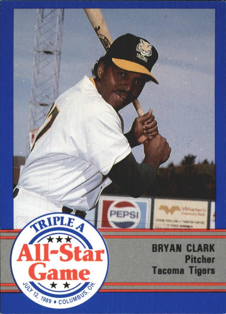1989 Triple A All-Stars ProCards #AAA39 Bryan Clark
