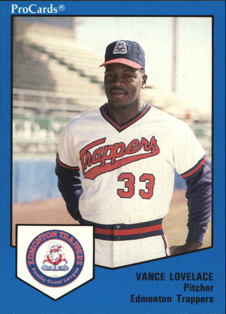 1989 Edmonton Trappers ProCards #559 Vance Lovelace