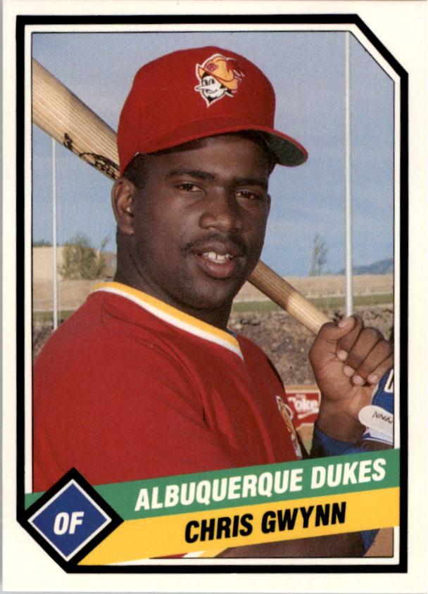 1989 Albuquerque Dukes CMC #15 Chris Gwynn