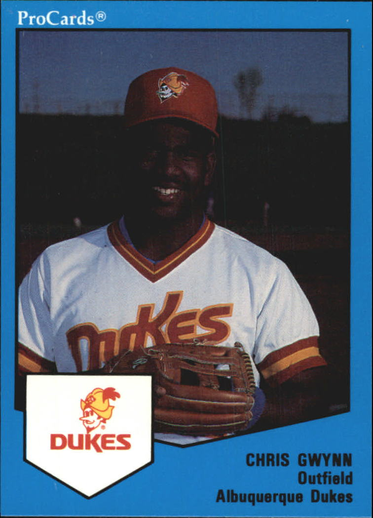1989 Albuquerque Dukes ProCards #64 Chris Gwynn
