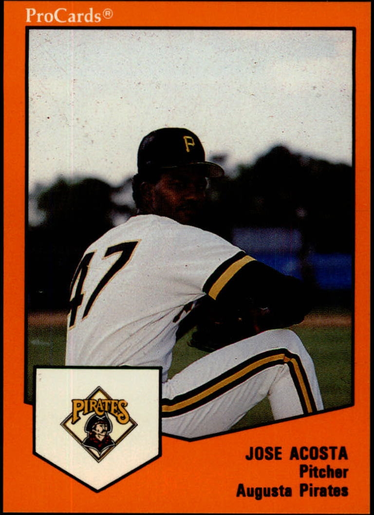 1989 Augusta Pirates ProCards #497 Felix Antigua
