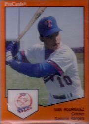 1989 Gastonia Rangers ProCards #1006 Ivan Rodriguez