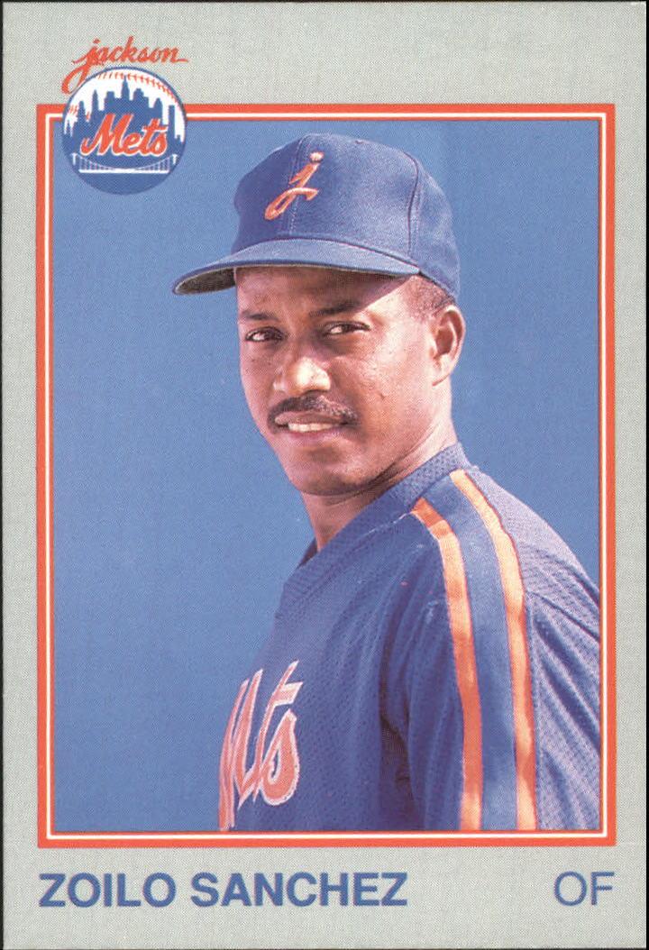 1989 Jackson Mets Grand Slam #15 Zoilo Sanchez