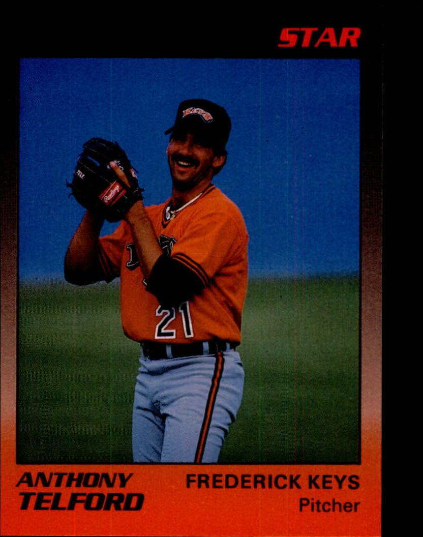 1989 Frederick Keys Star #23 Anthony Telford