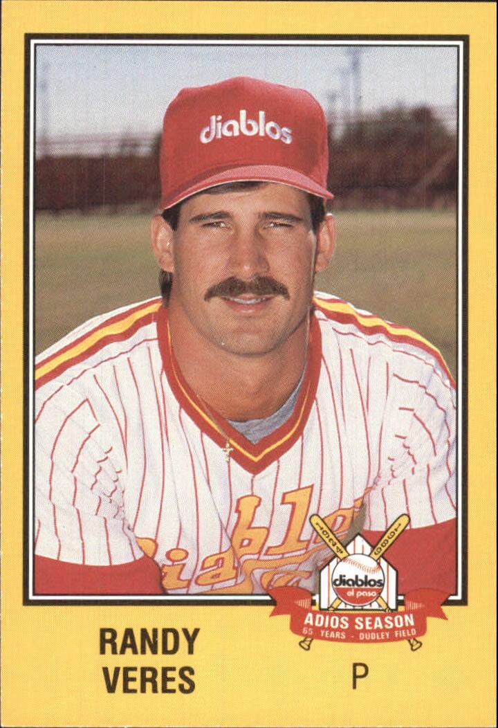 1989 El Paso Diablos Grand Slam #17 Randy Veres