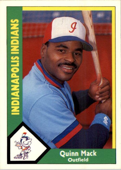 1990 Indianapolis Indians CMC #16 Quinn Mack